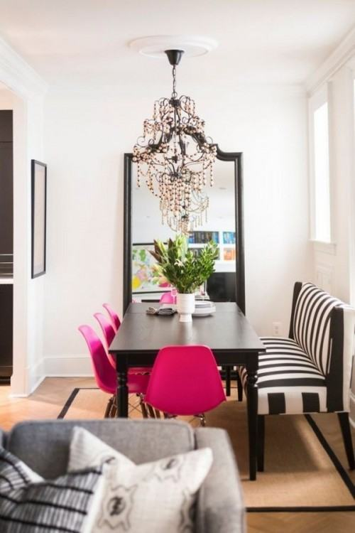 hot pink dining chairs pink dining chair pink dining room chairs 9 pretty  in hot pink