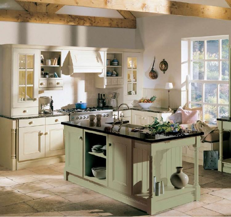 #PlainEnglish Kitchens Farmhouse Kitchen with Display Plates in London by  British Standard by Plain English | Interior Addiction | Kitchen,  Farmhouse,