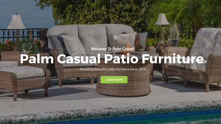 Classic blue  outdoor furniture