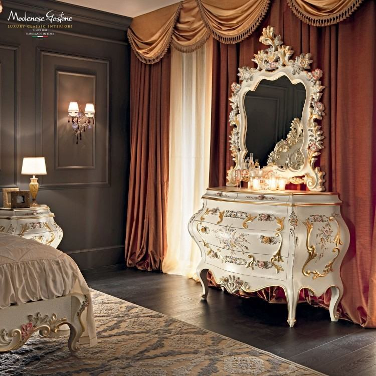"""A bedroom at Villa Cetinale, where everything had to be freshened up since  the family's dogs had peed on all the beautiful furniture throughout the  years"