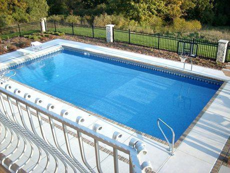 simple pool designs rectangular pools twin cities basic pool house designs