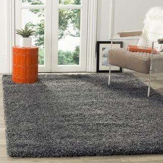 Dark Blue Plain Solid Shag Area Rug Solid Color [ 20'' x 7'2'' Runner ]  Plain Modern Area Rug Living Kids Room Bedroom Playroom Baby Room Bathroom  Rug Easy
