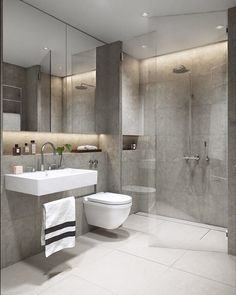 Modern Grey White Bathrooms That Relax Mind Body Soul Pertaining To And  Bathroom Pictures Ideas