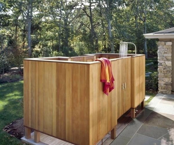 surprising outdoor shower doors enclosures standard cedar enclosure  portable camping