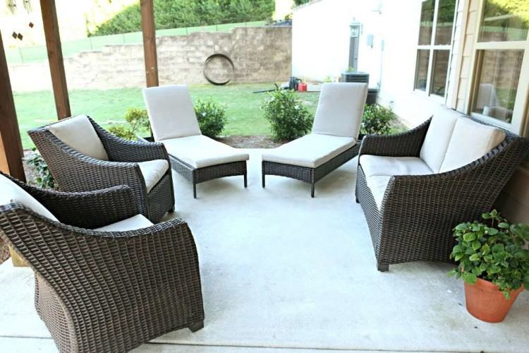 Full Size of Decorating Modern Wicker Patio Furniture Modern Outdoor Table  And Chairs Modern Patio Wicker