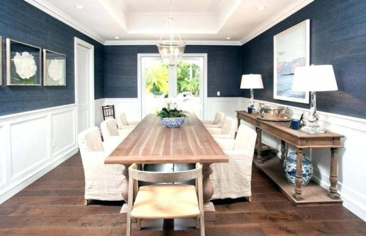 how to add wainscoting a room dining