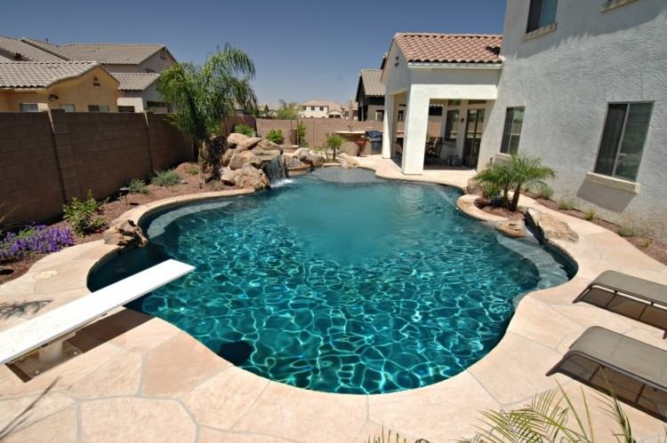 pool design ideas shipping container swimming pool desert landscape pool  design ideas