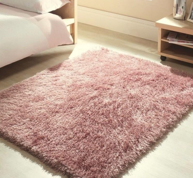 pale pink rug
