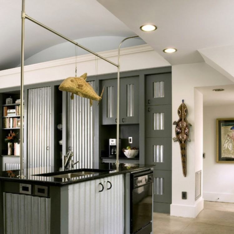 Unique & Unusual Kitchen Cabinets Styles Design : Inspiring Eco  Friendly Reclaimed Wood Kitchen Cabinetry Design