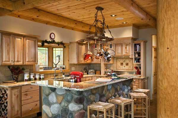 beautiful log cabin kitchen ideas and gorgeous for our in