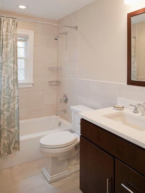 posh white bathroom tile ideas