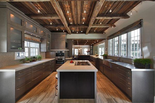 If your kitchen is really spacious that you island should be quite large